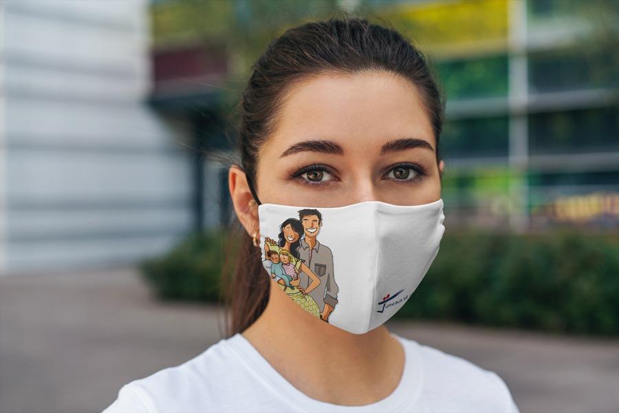 Commande de masques